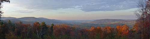 Views of the Taconic Range.