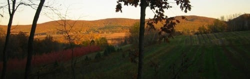 Views of the Taconic Range.