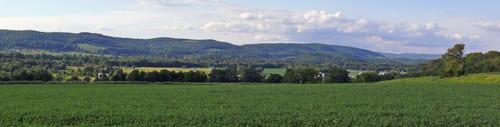 Farmland with Taconic views.