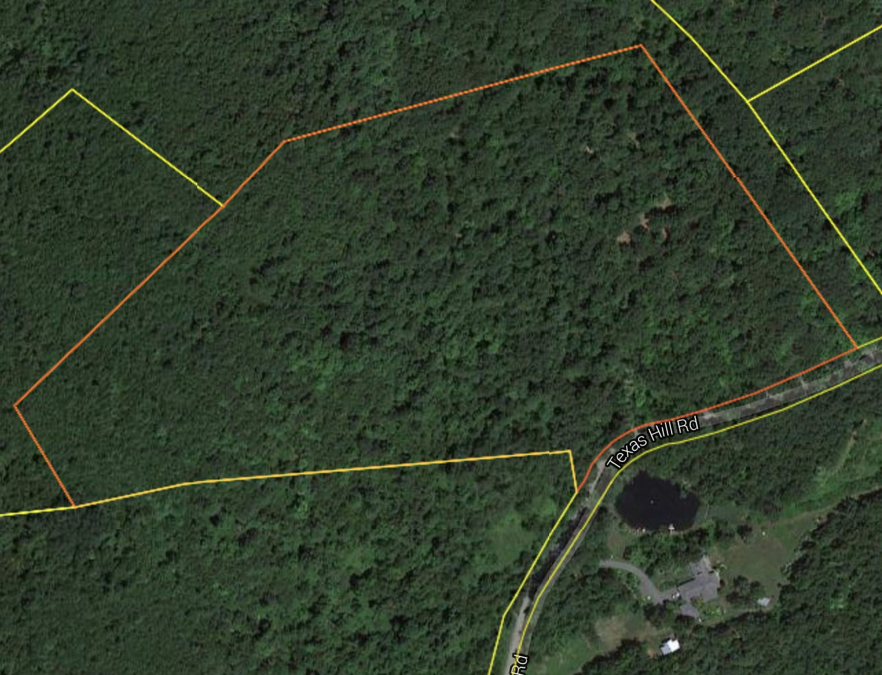 24.84 Acres on a Dirt Road